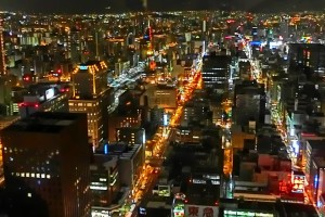 札幌の夜景