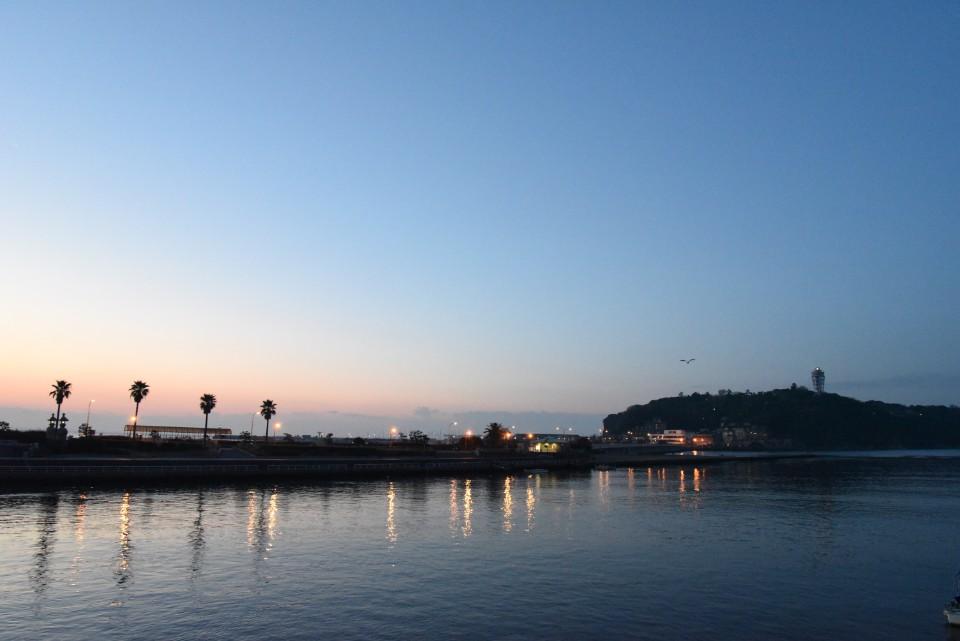 海と朝日撮影。始発で行こう!第2弾(Season1)江の島編