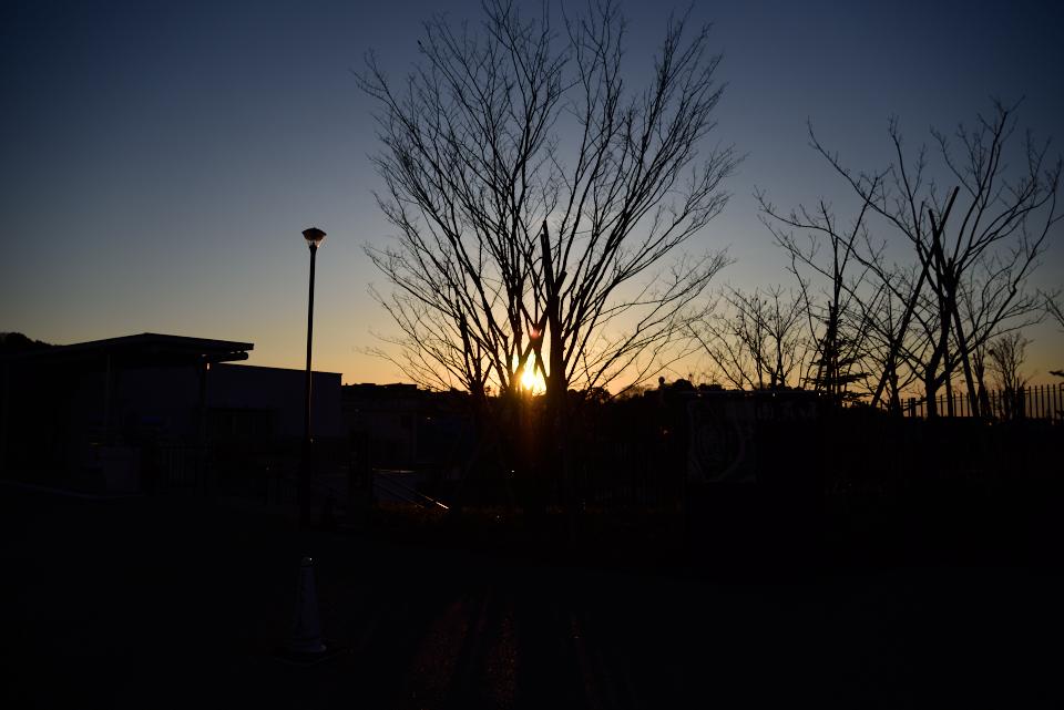 身近な場所で朝日撮影。始発で行こう!第4弾(Season1)二子玉川編