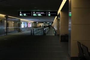 誰もいない空港