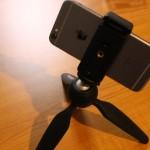 タイムラプスを撮るならiPhoneを固定しよう!Manfrotto SMART Clamp購入