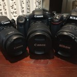 春のカメラ祭り-いろいろ違うCanon X7,80D Nikon D750を比較-