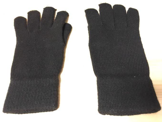 今持っている手袋