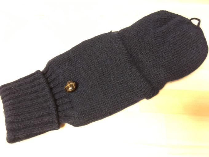 無印のミトン手袋を買ってみた