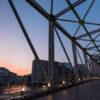 天王洲アイルで夕焼け空を撮影!屋形船が行きかうふれあい橋に行ってきました