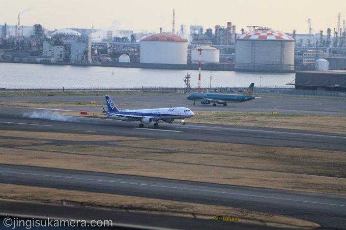 羽田空港-ANA-