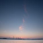 久々の朝日撮影!深夜から早朝の臨港パークをぶらぶら