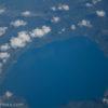 飛行機から見える景色!機窓からの眺めは非日常的