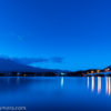 河口湖、産屋ヶ崎(うぶやがさき)で朝の富士山を見る